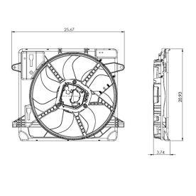 TYC-624080-Cooling-Fan
