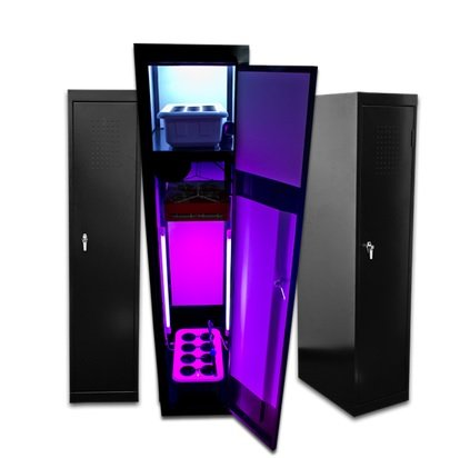 Grow Box LED SuperLocker 3.0 LED Grow Cabinet Hydroponics System Hydrponic Grow Box Cabinet Closet System