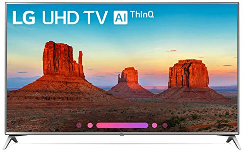 LG Electronics 70UK6570 70-Inch 4K Ultra HD Smart LED TV (2018 Model) (Renewed)