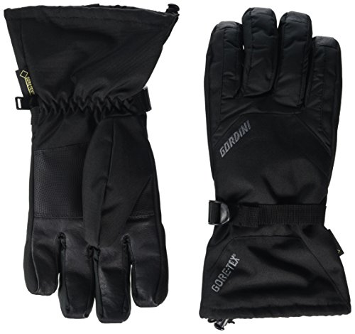 Gordini Men's Promo Gauntlet Gore-Tex Gloves, Black, L