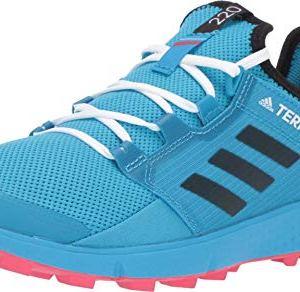 adidas outdoor Women's Terrex Speed LD Shock Cyan/Black/Active Pink 8.5 B US