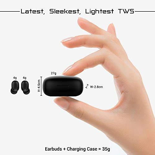 PTron Bassbuds Pro in-Ear True Wireless Bluetooth Headphones (TWS) with Mic - (Black) 3