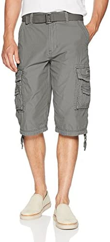 Unionbay Men's Cordova Belted Messenger Cargo Short - Reg and Big and Tall Sizes 1