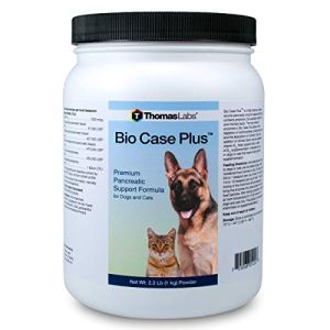 Thomas Labs Bio Case Plus - Pancreatic Enzymes for Dogs & Cats - Digestive Supplement 2.2 lbs 10