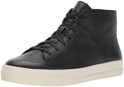 Double padded footbed Modern styling Lace-up closure. Contrast rubber sole
