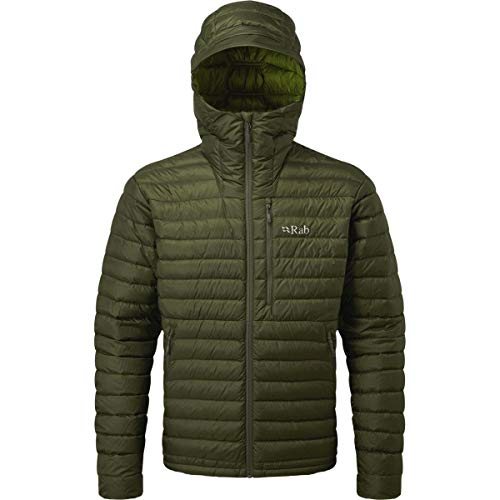 RAB Microlight Alpine Jacket - Men's Army/Cactus Large