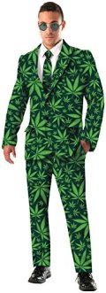 Forum Novelties Men's Joint Venture Suit Cannabis Costume