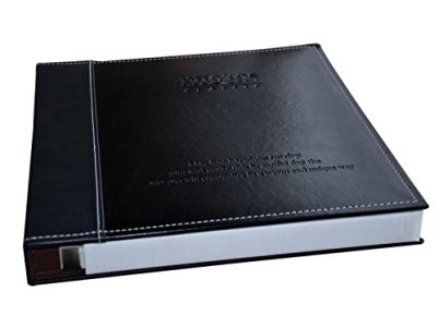 ZOVIEW-Magnetic-Self-Stick-Page-Photo-Album-Family-Album-Leather-Cover-Hand-Made-DIY-Albums-Holds-3X5-4X6-5X7-6X88X10-Photos-A52035-Black