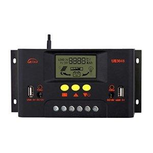 Sun YOBA 30A 48V LCD Solar Charge Controller Solar Controller Solar Regulator