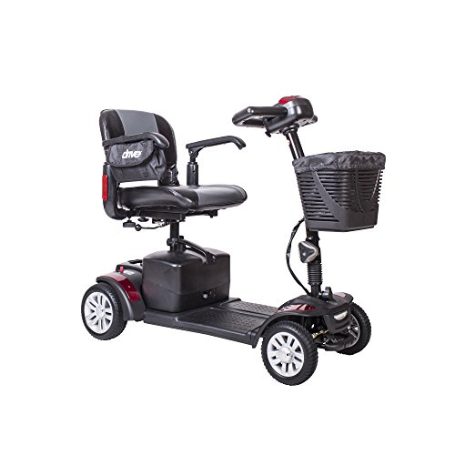 Drive Medical spitfire142016fs21 Spitfire Ex Travel 4-Wheel Mobility Scooter, 21 Ah Batteries