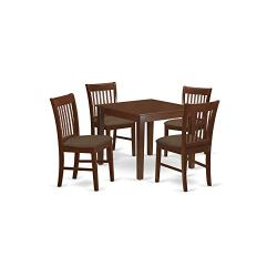 5 Pc Kitchen Table set – square Table and 4 Dining Chairs