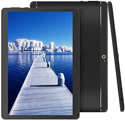BeyondTab 10 inch Android Tablet Unlocked Pad with Dual SIM Card Slot 10.1″ IPS Screen 4GB RAM 64GB ROM 3G Phablet Built-in Bluetooth WiFi GPS Tablet (2019 Version)