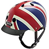Nutcase - Patterned Street Bike Helmet for Adults, Union Jack, Small