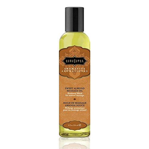 Kama Sutra Massage Oil 8 oz - Sweet Almond