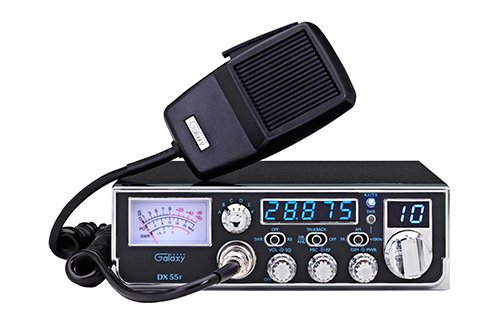 Galaxy DX55F Compact 10 Meter Radio With 5 Digit Frequency Counter