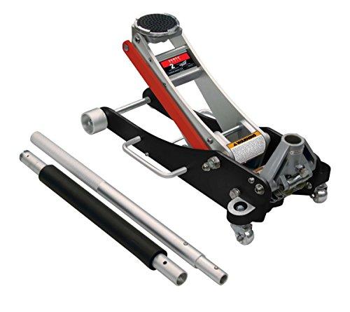 Sunex Tools 6602ASJ Aluminum Service Jack with Quick Lifting System - 2 Ton Capacity