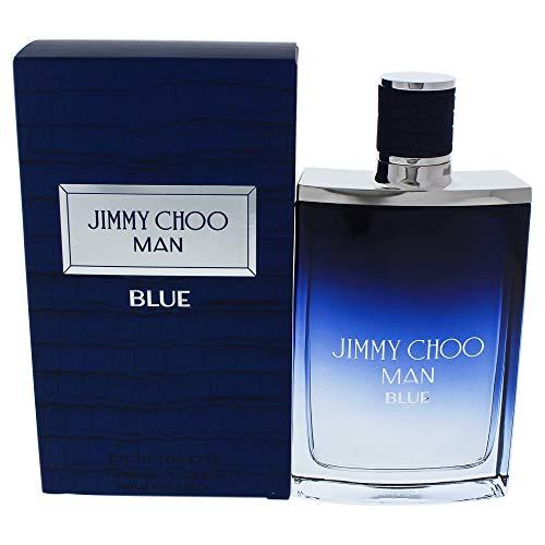 Jimmy Choo Man Blue Eau De Toilette Spray, 3.3 Ounce