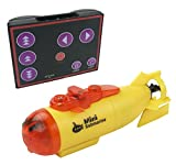 Liberty Imports 3CH Infrared Mini RC Submarine Electric Remote Control Toy Waterproof Underwater Submersible