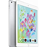 Apple 9.7in iPad (6th Generation, 128GB, Wi-Fi Only, Silver) (Renewed)