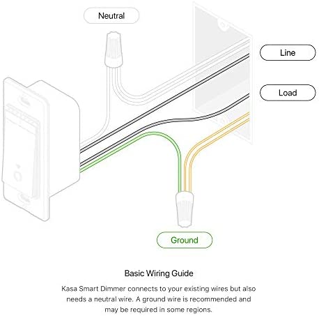 Kasa Smart Dimmer Switch HS220, Single Pole, Needs Neutral Wire, 2.4GHz Wi-Fi Light Switch Works with Alexa and Google Home, UL Certified,, No Hub Required 12