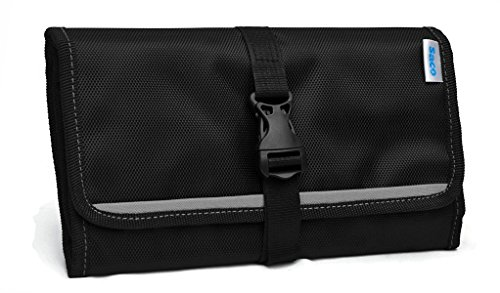 Saco Gadget Organizer Bag for All Gadgets Accessories Organiser/Universal Travel Bag Go Bag/Universal Travel Kit Organizer for Small Electronics and Accessories & Other Digital Devices (Grey)