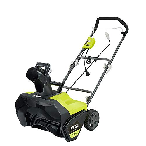 Ryobi 20 in. 13 Amp Corded Electric Snow Blower - New Model