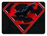 Superman Batman Will Come 18x24 Floormat