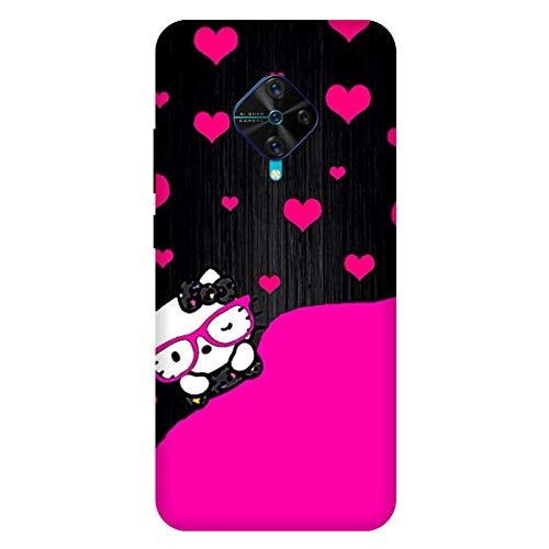 Kitty :: Cute :: Cartoon :: VIVO S1 PRO Multicolor Mobile Back Cover 2