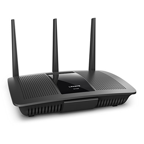 Linksys Max-Stream AC1750 MU-MIMO Dual-Band WiFi Router for Home (Fast Wireless WiFi Router, Gigabit Wireless Router)