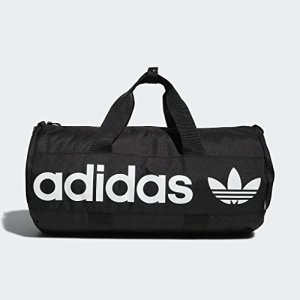 adidas Originals Paneled Roll Duffel Bag, Black, One Size 1 Fashion Online Shop 🆓 Gifts for her Gifts for him womens full figure