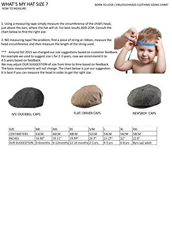 3c6e4b9124e Born to Love – Infant   Toddler Boys Pinstripe Driver Cap Baby Hat for Kids