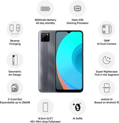 The low priced Realme C11 came with interesting features