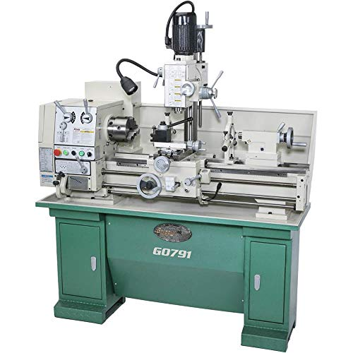 Grizzly G0791-12' X 36' Combination Gunsmithing Lathe/Mill
