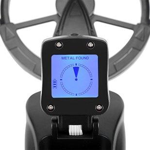 Zerone-Detector-de-Metales-Detector-de-Metales-Porttil-Indicador-de-Deteccin-LCD-Ajuste-de-Altitud-Impermeable