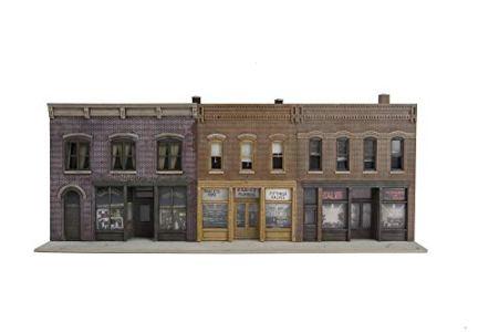 Walthers-SceneMaster-Merchant-Row-IV