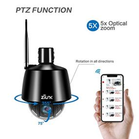 ZILINK-Outdoor-Security-Camera-1080P-Wireless-WiFi-Home-Surveillance-Camera-with-Night-Vision-PanTiltZoom-5X-Optical-Zoom-Remote-Access-IP65-Waterproof-Motion-Alerts-Supprot-TF-Card