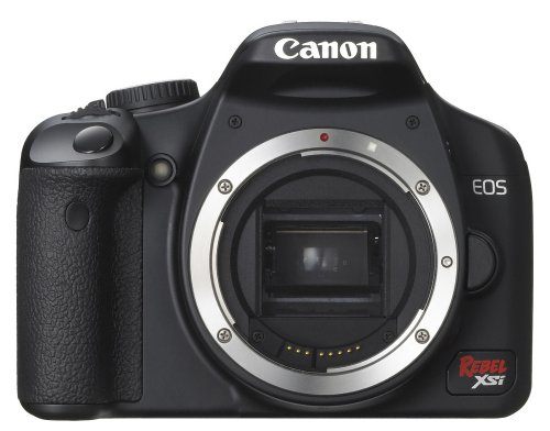 Canon Digital Rebel XSi 12.2 MP Digital SLR Camera (Black Body Only)