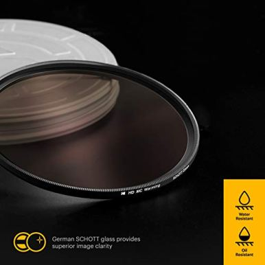 KODAK-55mm-Schott-Glass-Filter-Set-Pack-of-4-UV-CPL-ND4-Warming-Filters-for-Various-Effects-Slim-Waterproof-Polished-Nano-Multi-Coated-16-Layers-Retro-Case-Mini-Guide-PhotoGear