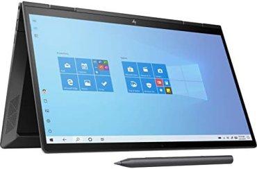 HP Envy x360 Convertible Touchscreen 13.3-inch (33.78 cms) FHD Laptop (3rd Gen Ryzen 5 4500U/8GB/512GB SSD/Win 10 Home/Night Fall Black/1.32kg), 13-ay0045AU