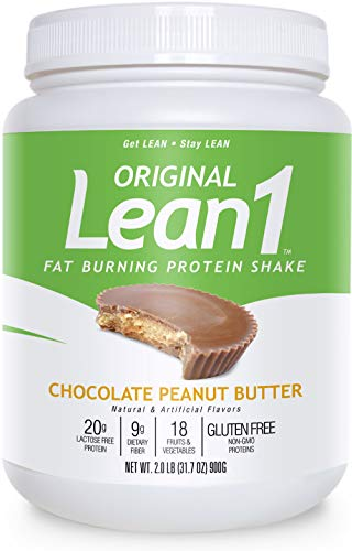 Nutrition 53 Lean 1 Dietary Supplement, Chocolate Peanut Butter, 1.98 lb 1