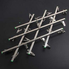 Darkroom-Film-Negative-Drying-Hanging-Rack-Frame-Hanger-20-Clips-for-35mm-120-4x5-Film