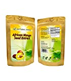 African Mango Seed Powder (10:1 Extract) - Fight Stubborn Fat & Support Metabolism - 100% Pure, Wildcrafted, Raw, Non GMO, & Gluten Free - 1 lb