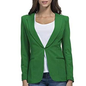 JHVYF Womens Casual Basic Work Office Cardigan Tuxedo Summer Blazer Open Front Boyfriend Jacket 27 Fashion Online Shop gifts for her gifts for him womens full figure