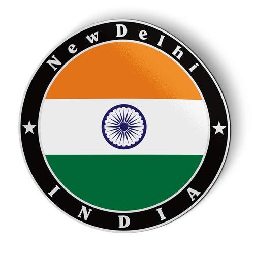India Flag - Flexible Magnet - Car Fridge Locker - 3'