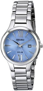 Seiko Women's SUT209 Analog Display Analog Quartz Silver Watch