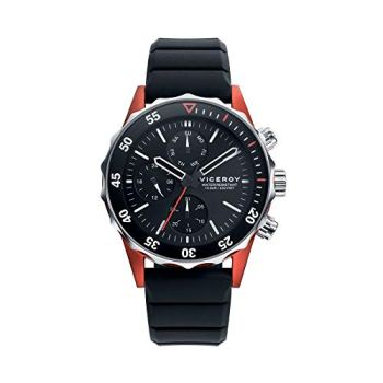 Viceroy Watch 471159-57 Heat Black Man Silicone