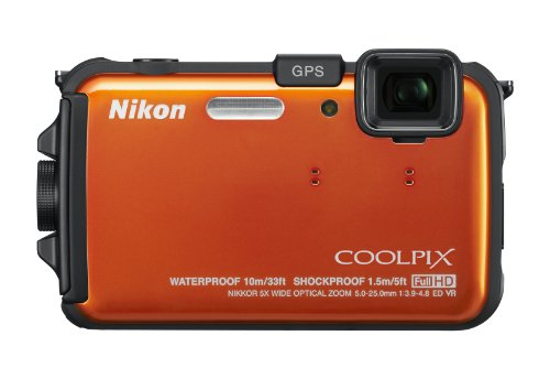 Nikon COOLPIX AW100 CMOS Waterproof Digital Camera