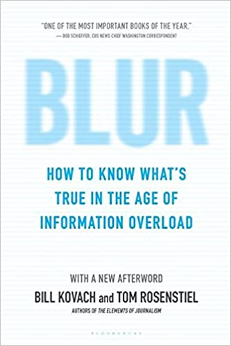 Image result for blur book journalism