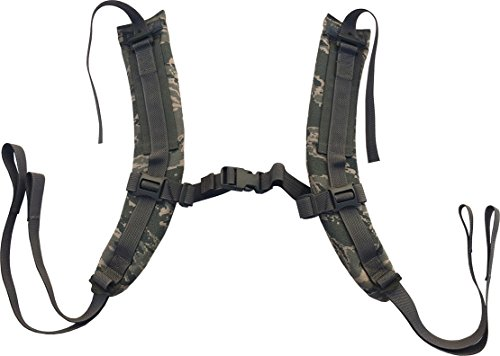 Fire Force A.L.I.C.E. Pack Shoulder Straps LC-2 Shoulder Strap Pads Made in USA (ABU Camo)