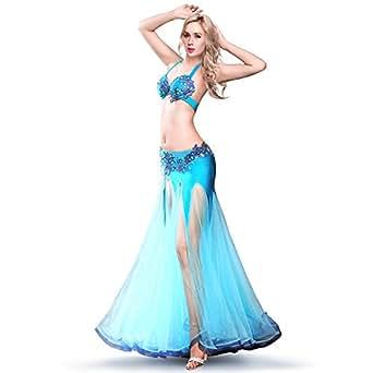 Amazon.com: ROYAL SMEELA Belly dance Costume Set ...